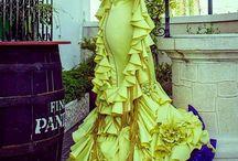 vestidos de sevillana
