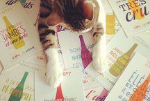 Les chats Ze Cats in wine / Tout pour les cat lovers comme moi dans le monde du vin in the wine business ;)