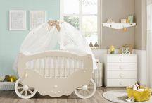 Ρομαντικό βρεφικό δωμάτιο / Ένα βρεφικό δωμάτιο για μια πριγκίπισσα από τα παραμύθια!