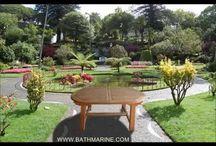 BATHMARINE.COM Muebles de TECA Mesas TEKA Jardin Tumbonas