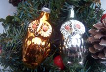Whimsical unusual Christmas ornaments!