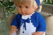 vestidos muñecos
