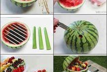 Meyve ve sunumlar