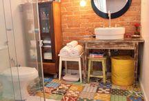 Deco: Banheiros