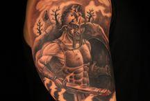 Warrior Tattoos / Ink Master Season 4 Episode 9