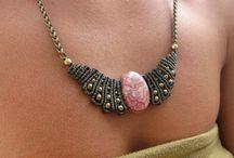 Macrame' jewelry