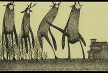 monster illustrations