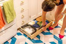 Easy DIY Peel & Stick Floor Decals