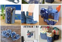 Denim blue jins