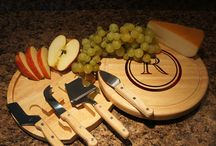 Cutting Boards, Cheese Boards, & Cheese Knives / Make every gift you give personal. Design's the Limit also offers the option of including a personal gift message on the bottom of the cutting boards. Product images on our Pinterest boards are the sole intellectual property of Designs the Limit, LLC. Reproduction of any of our images for commercial use is strictly forbidden.