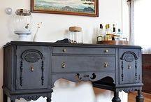 Furniture restoration / Breath some life into old furniture
