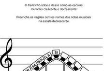 Atividades de música