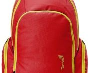 The Vertical Fuse Red Casual Backpack