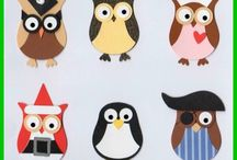 Stampin' Up!- Owl Builder Punch Ideas