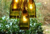 Wine Bottle Basics / After enjoying a decadent bottle of your favorite Zaca Mesa wine, we recommend up-cycling that bottle into a beautiful work of art or piece of furniture. These are some great ideas on how to do just that. Lets get crafty!
