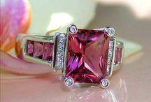 Tourmaline, Pink / Tourmaline Pink Rings & Jewelry