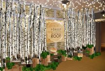 Forest, Restaurant & Bar on the Roof of Selfridges. Winter 2015