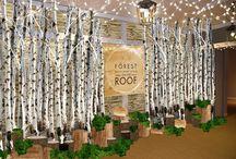 Forest, Restaurant & Bar on the Roof of Selfridges. Winter 2015