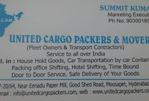 United Cargo Packers & Movers / United Cargo Packers and Movers is a premier service providing firm that deals in moving and packing of goods and specializes in large shipment services through air, water and land.  United Cargo Packers and Movers is a premier service providing firm that deals in moving and packing of goods and specializes in large shipment services through air, water and land. We like to project ourselves as a professionally managed company with a team of highly dedicated,