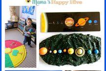 solar system work