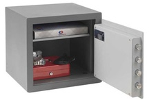 £4,000 Cash Rated Safes / These Safes have a 4k Cash rating and 40k valuables. These safes are available from www.littlesafe.co.uk
