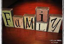 block letters idea