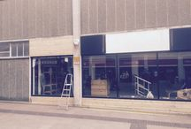Swansea shop / Pictures of the fitting out process of our new shop in Swansea in March 2016