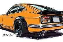 dibujos coches