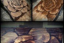Mesa flor / Arte pintura