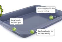 GreenPan Bakeware / Ceramic coated, heathy non-stick bakeware by GreenPan