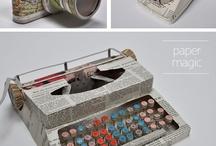 letters monograms typewriters / by Leah Clark