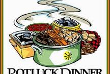 Food on Friday: Potluck Dinner Party / To add your dish to the Potluck Dinner Party just head on over to  http://caroleschatter.blogspot.co.nz/2015/03/food-on-friday-pot-luck-dinner-party.html  Cheers