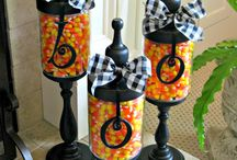 DIY Apothecary Jars / I love apothecary jars..they are so versatile for the holidays!  / by Bonnie