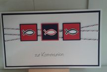 Karten Kommunion Konfirmation