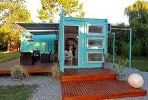 Container Home. 컨테이너 하우스 .집 / 컨테이너를 통한 집