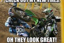 Śmieszne zabawne motocyklowe