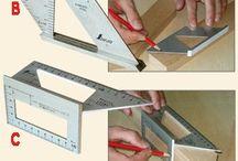 Orýsování, měření, označování