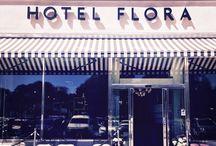 Hotel Flora / Entré