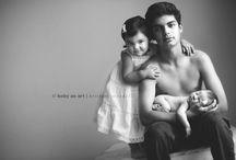 Newborn Sibling Photography / by Laura Swinson