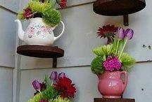 Container gardens / Pretty pots