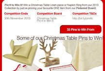 Christmas Table Pini it to Win it