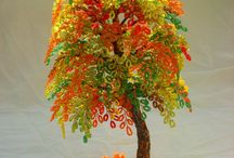 Koraliki - drzewa