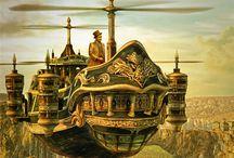 steampunk art / by Janet Riedel