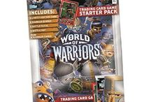 World Of Warriors / Topps is proud to present the World of Warriors Trading Card game, a second collaboration with Mind Candy following on from the unprecedented success of Moshi Monsters. As part of a global World of Warriors brand featuring the multi-million dollar selling app, publishing and toy programme, this exciting new trading card game aims to bring this fearsome adventure to life.