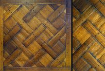 Parquet Wood Flooring / Parquet wood floors by Archetypal Imagery Corp.