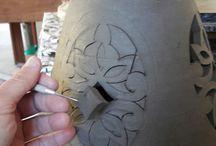 wycinanie i rzeźbienia w glinie