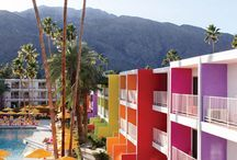 Palm Springs / Decor and fashion inspired by a Palm Springs. Palm Springs architecture, things to do and places to stay.
