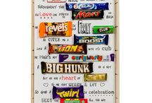 Chocolate bar card
