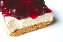 Cherry cheesecake crumble recipe