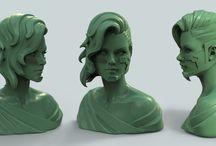 Sculpt and 3D
